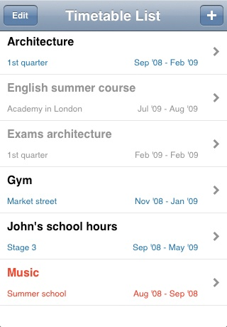 My Timetable-4
