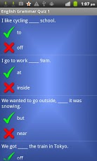 English Grammar Prepositions App - 4