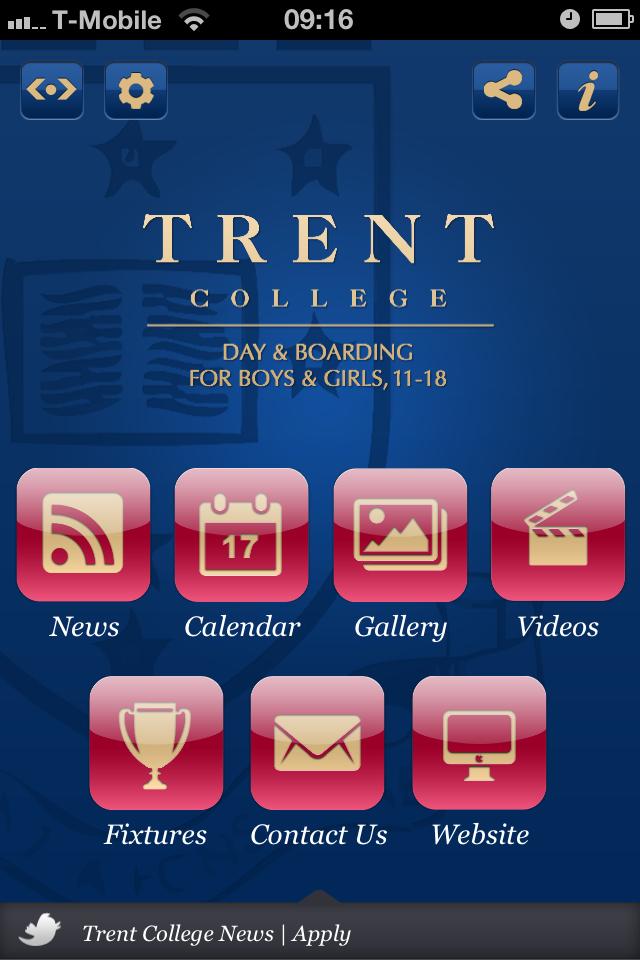 Trent College Parent App-2