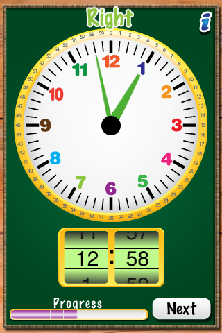 MathTappers: ClockMaster - a math game to help children learn to read clocks-1