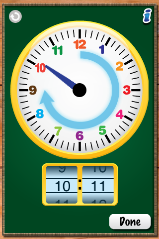 MathTappers: ClockMaster - a math game to help children learn to read clocks-4