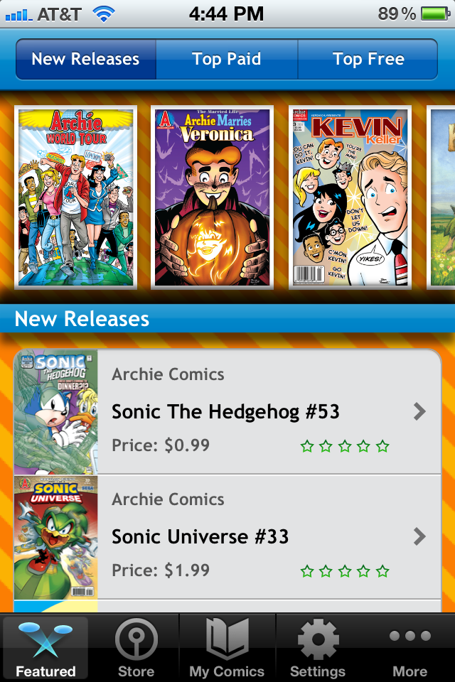 Comics + Kids App - 1