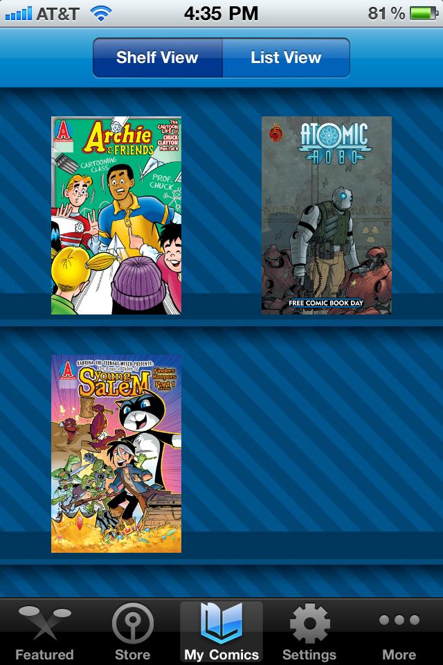 Comics + Kids App - 3
