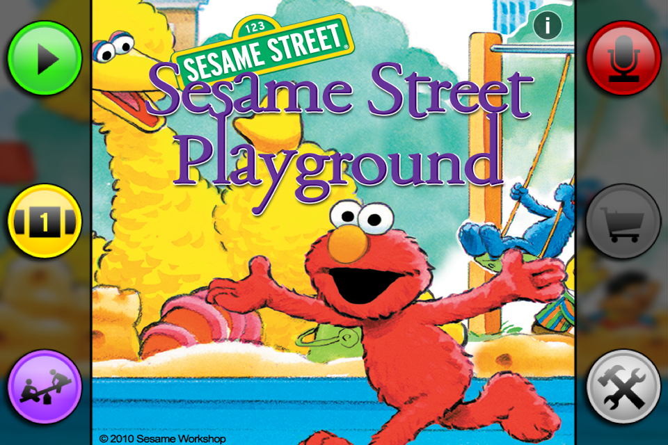 Sesame Street: The Playground-1