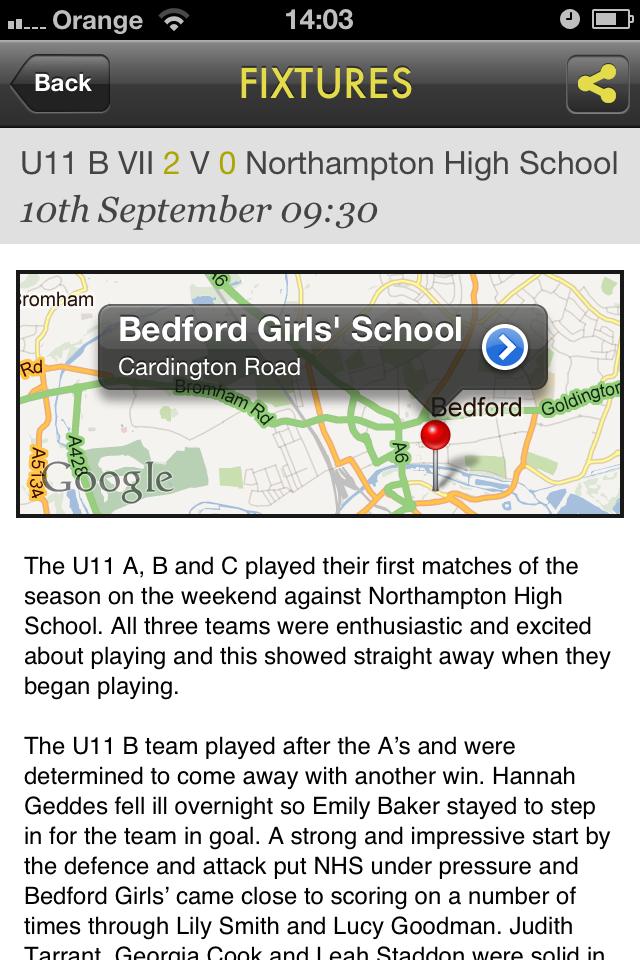 Bedford Girls