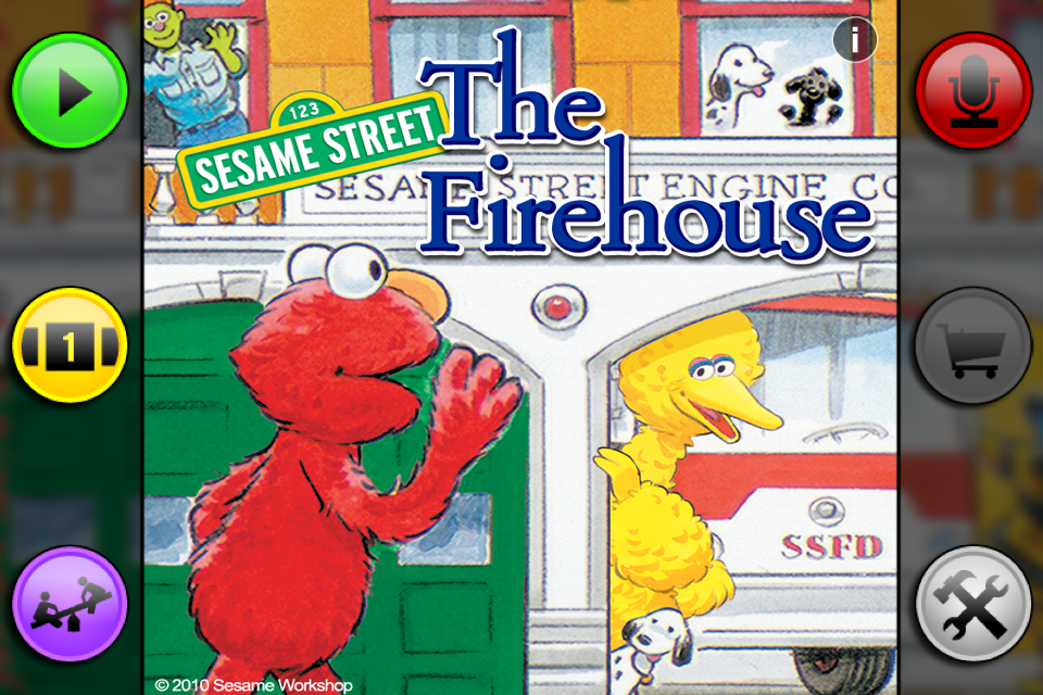 Sesame Street: The Firehouse