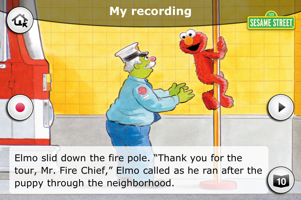 Sesame Street: The Firehouse-4