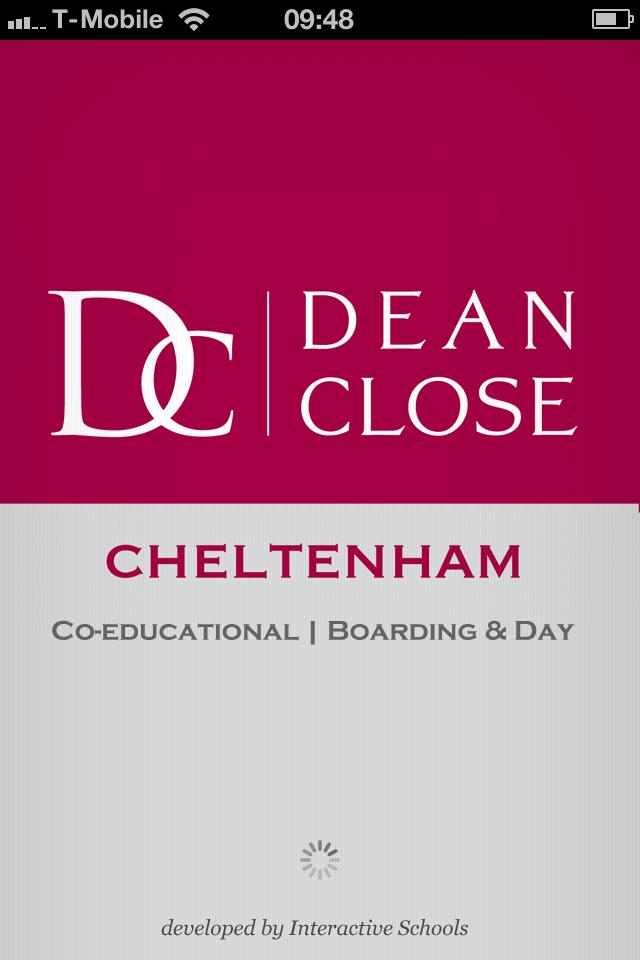 Dean Close Parent App-1