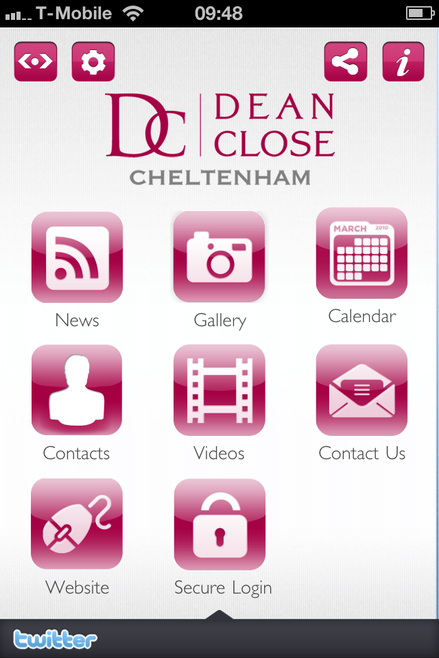 Dean Close Parent App App - 2