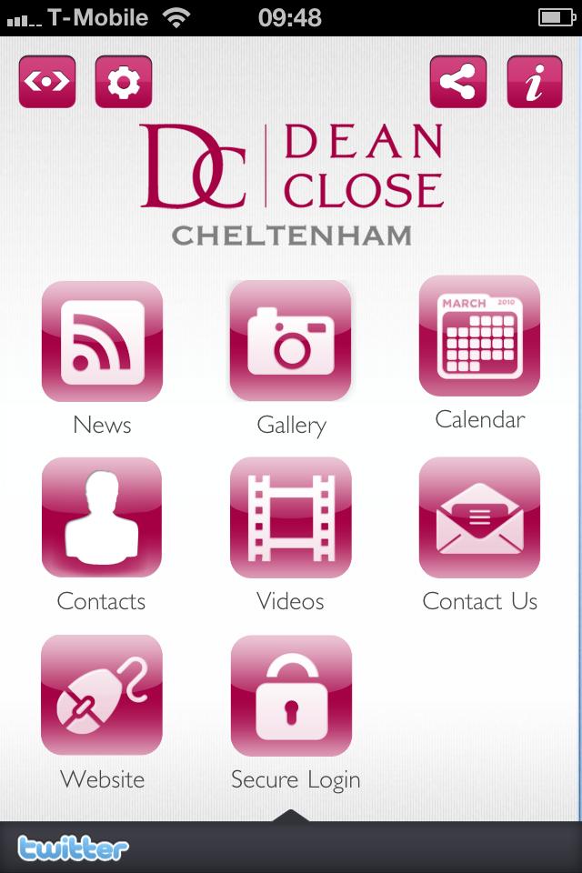 Dean Close Parent App-2