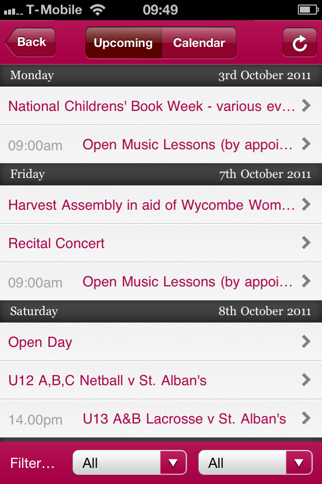 Dean Close Parent App App - 3
