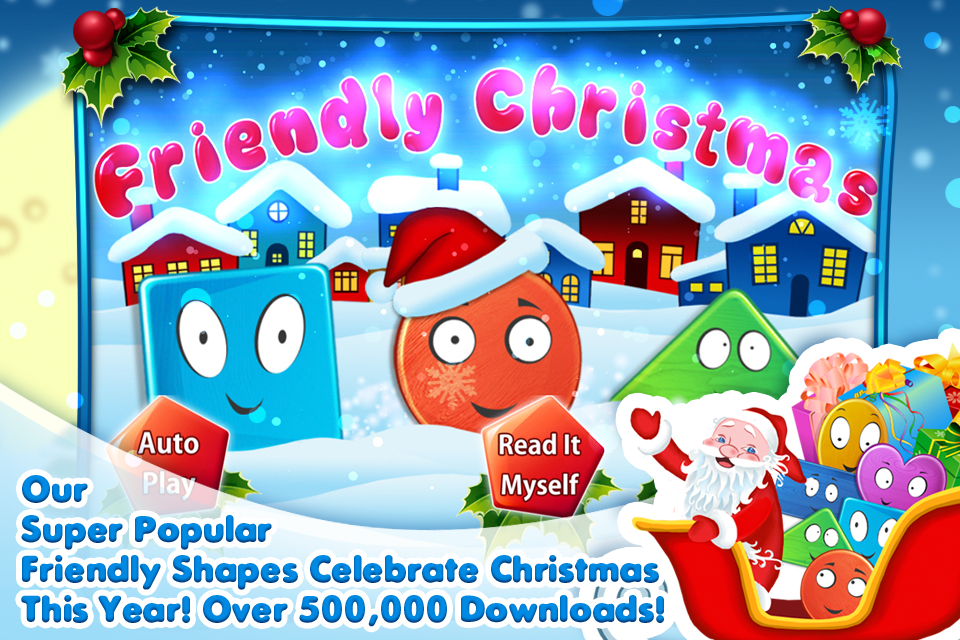 Friendly Christmas - Funny shape holiday adventure-1