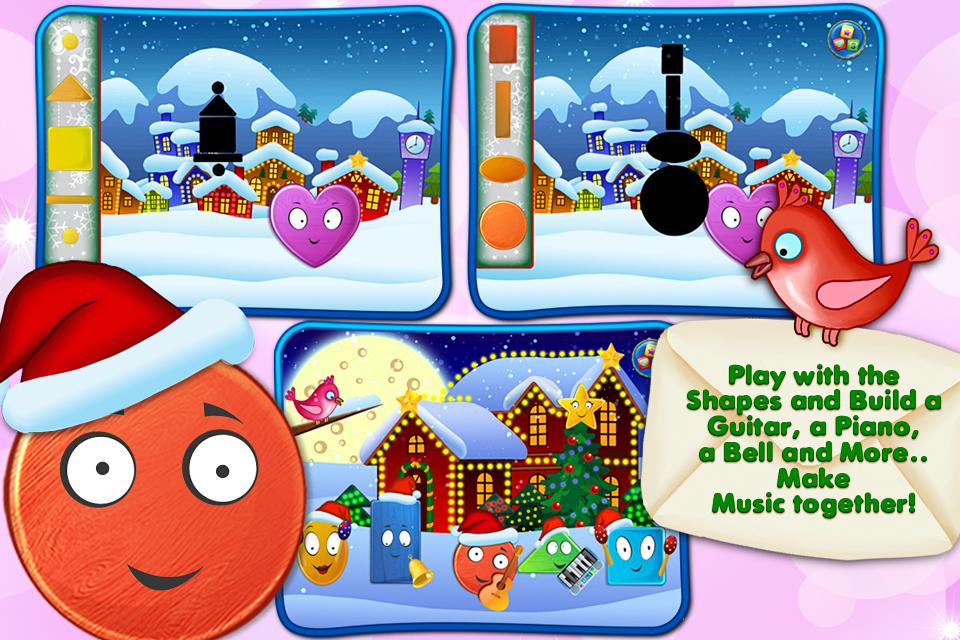 Friendly Christmas - Funny shape holiday adventure-5
