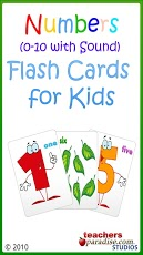 0-10 Numbers Baby Flash Cards-1