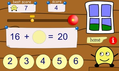 Adding Numbers to 10 and to 20 App - 1