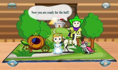 Cinderella 3D Popup Fairy Tale-3