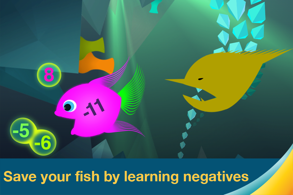 Motion Math: Hungry Fish App - 2