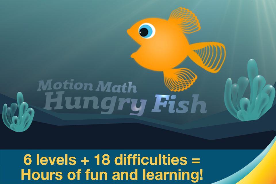 Motion Math: Hungry Fish App - 5