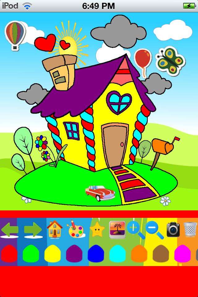 Fun Coloring App App - 2