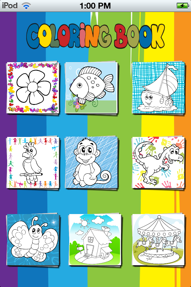 Fun Coloring App App - 4