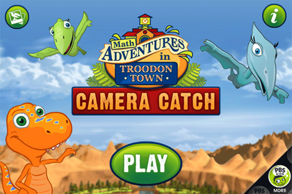 Dinosaur Train Camera Catch!-1