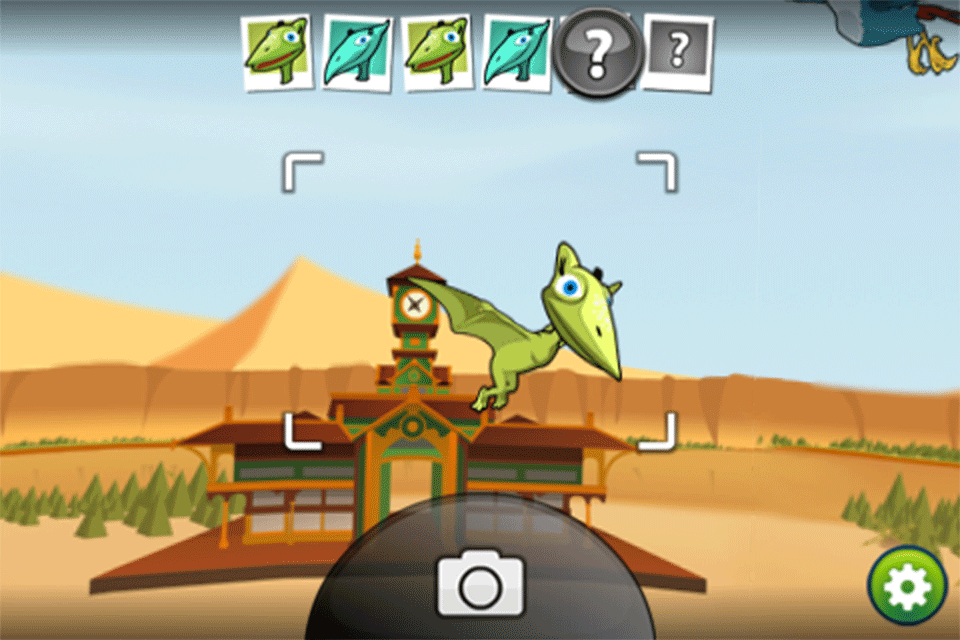 Dinosaur Train Camera Catch!-3