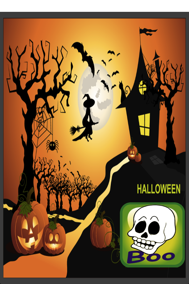 Haunted Halloween Coloring Book-1