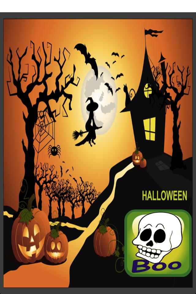 Haunted Halloween Coloring Book-1