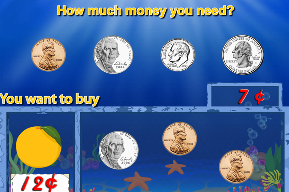 Amazing Coin(USD) FREE: Money learning & counting game for kids-2