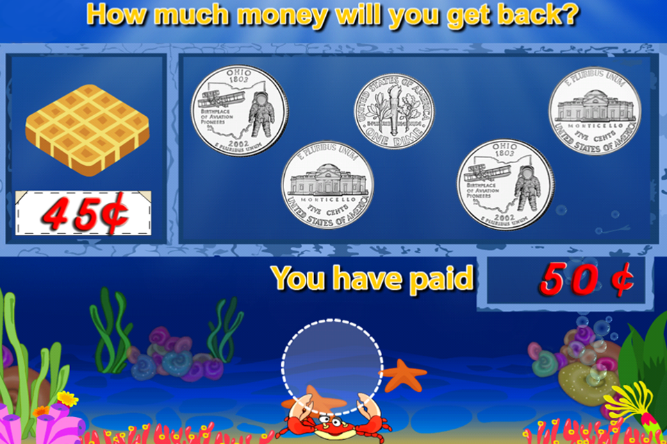 Amazing Coin(USD) FREE: Money learning & counting game for kids-4