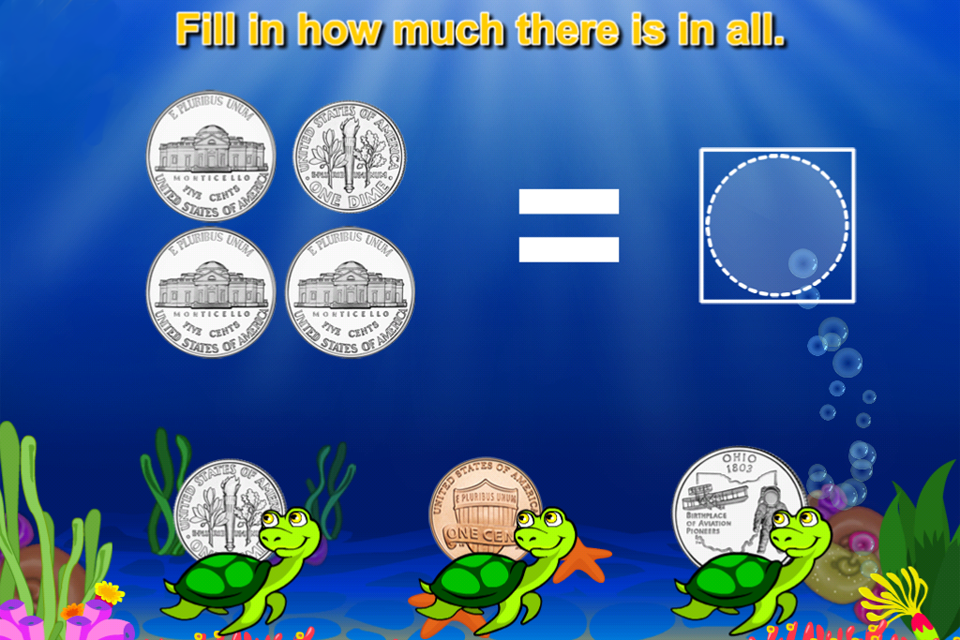 Amazing Coin(USD) FREE: Money learning & counting game for kids-5