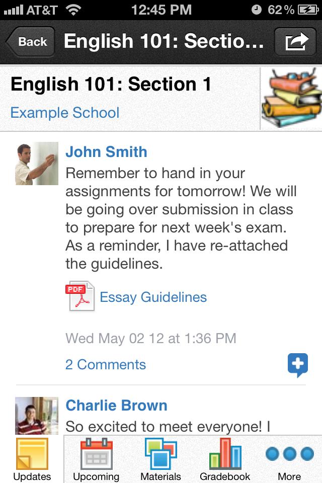 Schoology App - 2
