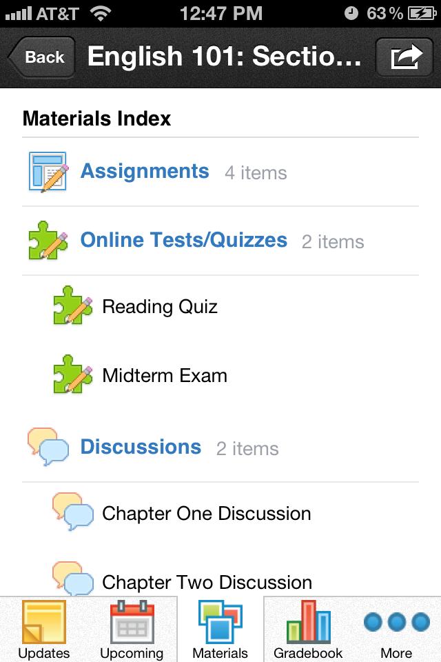 Schoology App - 3