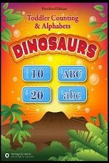 Toddler ABCs & 123s Dinosaurs App - 1