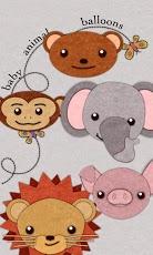 Baby Animal Balloons-1