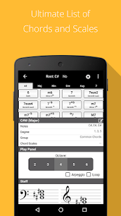 Piano Chords, Scales Companion App - 2