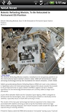 NASA Now App - 3