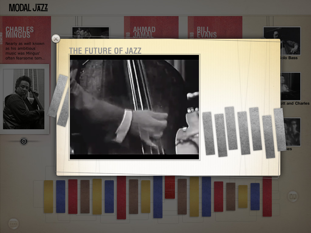 The History of Jazz - an interactive timeline App - 5