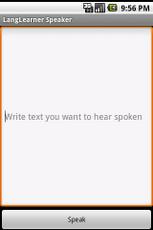 LangLearner Speaker App - 1