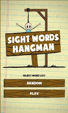 Sight Words Hangman-1