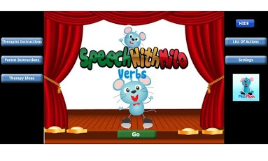 Speech with Milo: Verbs App - 1