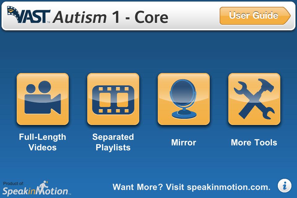 VAST Autism 1 - Core-1