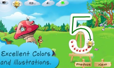I Can Write ABC kids alphabets App - 2