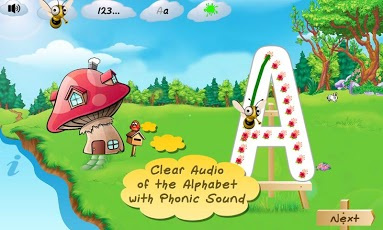 I Can Write ABC kids alphabets App - 3