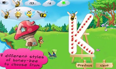 I Can Write ABC kids alphabets App - 5