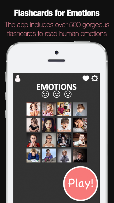 ABA Flash Cards - Emotions App - 2