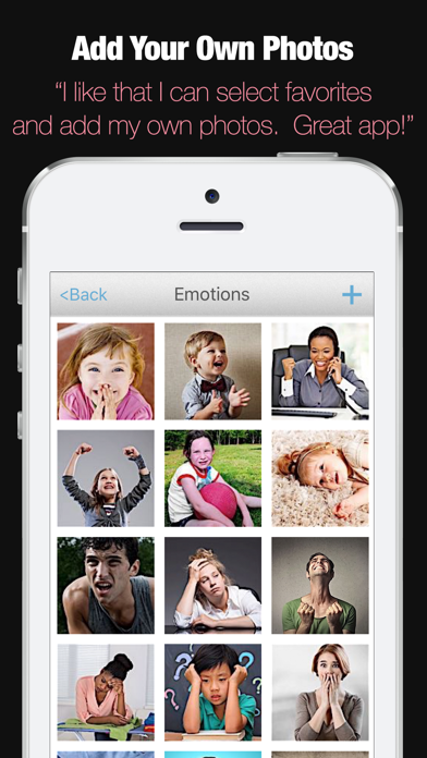 ABA Flash Cards - Emotions App - 4