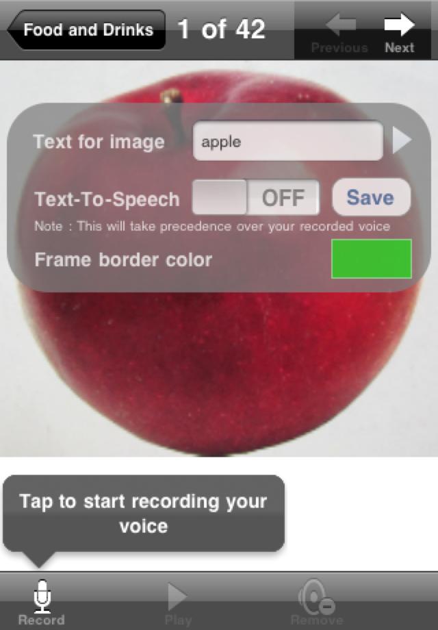 PictureCanTalk App - 4