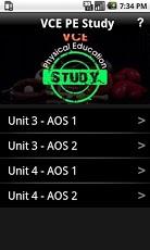 VCE PE Study-1