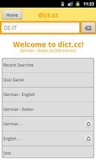 dict.cc+ dictionary-1